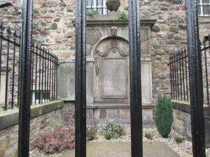 Adam Smith's tomb