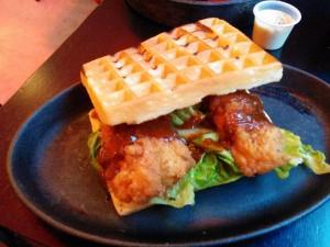 chicken waffle