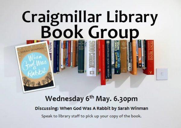 craigmillar library book group May 2015