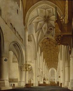 interior of st bavo's church haarlem at ngs