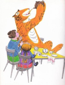 Image: The Tiger Who Came to Tea by Judith Kerr