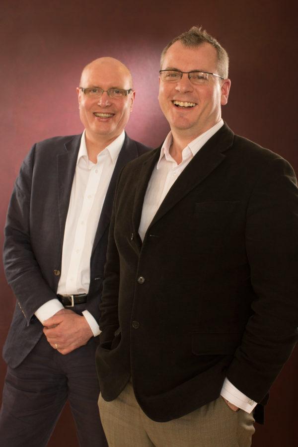 Alex Reedijk, General Director, and Stuart Stratford, Music Director. Scottish Opera 2015. Credit James Glossop