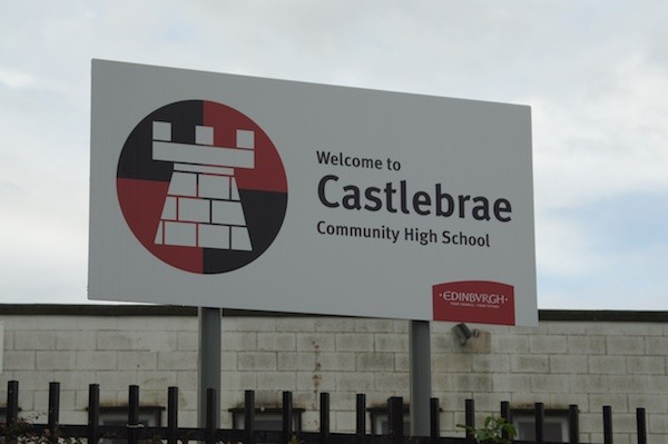 Castle brae Sign