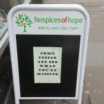 hospices of hope outside sign