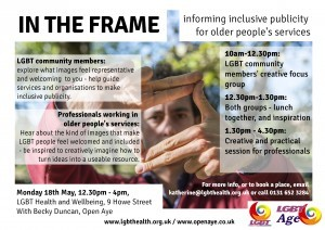 in the frame poster lgbt