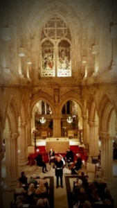 poetry and music in the Rossyln Chapel