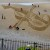 FREE PIC:  Giant Violin Beach Sand Drawing East Neuk Fest 05