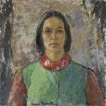 anne redpath self-portrait – scottish gallery