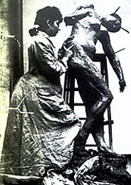 camille claudel sculpting