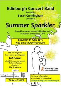 edinburgh concert band summer sparkler