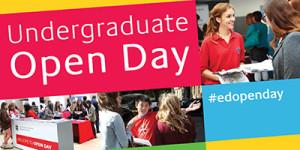 edinburgh university open day banner