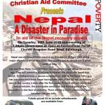 fairmilehead church christian aid nepal fundraiser poster