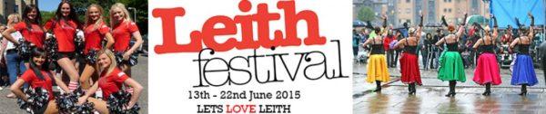 leith festival banner