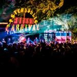 psychedelic forest carnival at kelburn garden party