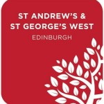 st andrew's amd st george's west logo