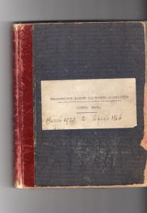 Allotment minute book 1923-1