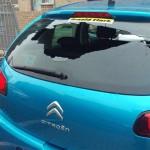 TER vandalised car – 1