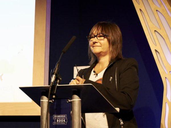 Ali Smith - Helen Jones - Edinburgh International Book Festival