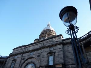 Not a cloud in the sky at Edinburgh University