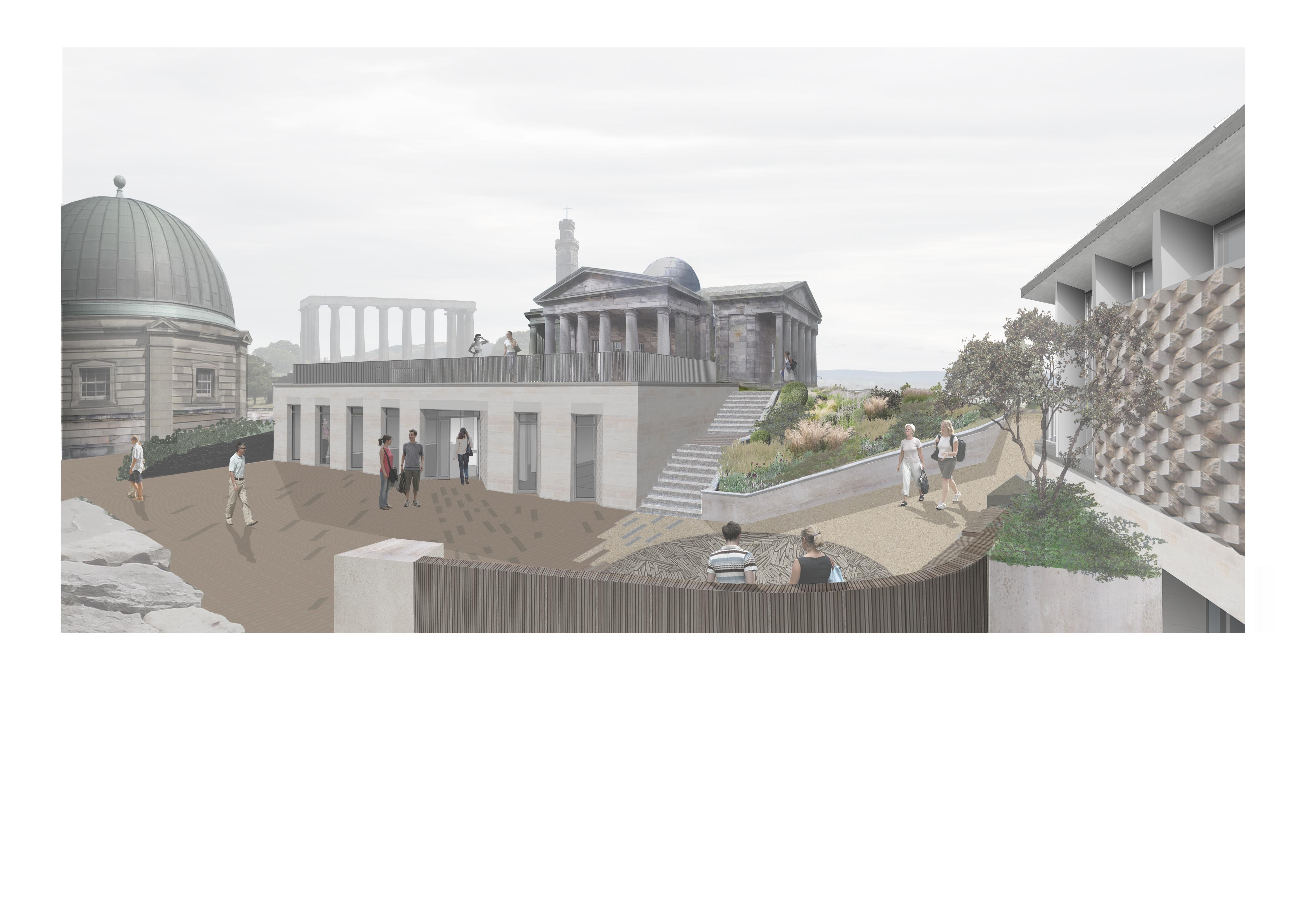 CityObservatoryPlans03_Subterranean_Gallery_View