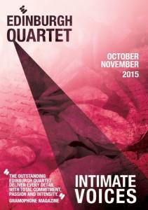 ed quartet intimate voices flyer