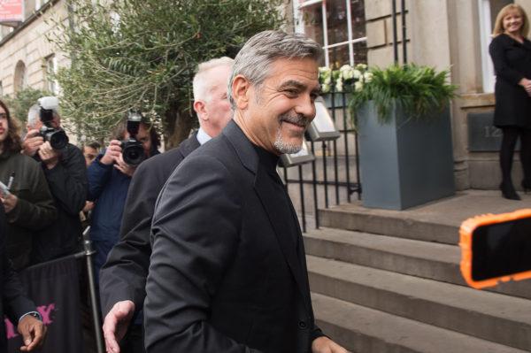 George Clooney, Edinburgh, 12th, November, 2015