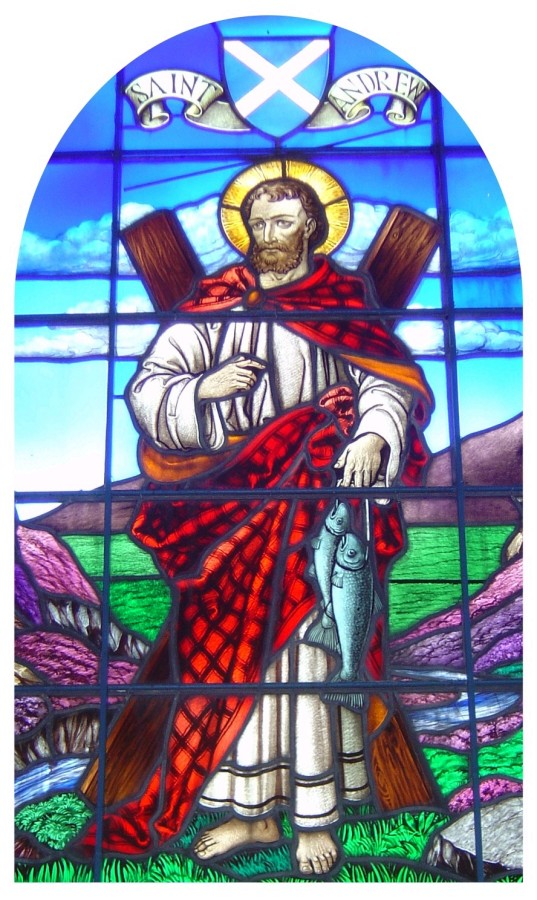 May the spirit of St Andrew be with you.