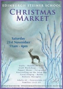 steiner christmas market poster 2015