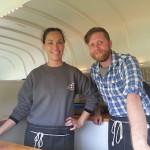 Cal and Mel of the Crema Caravan. Photo Credit Mark Farvis