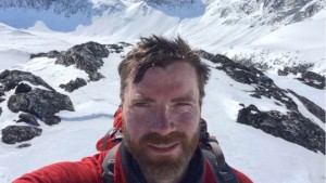 Polar adventurer Luke Robertson