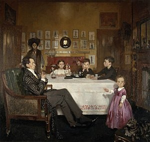 a bloomsbury family - sir william orpen