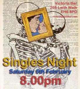 victoria singles night poster