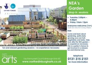 NEA garden drop ins