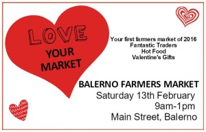 balerno farmers' market 13th feb