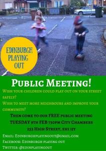 edinburgh playing out meeting