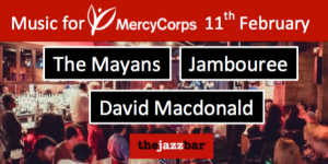mercy coprs charity fundaiser at jazz bar