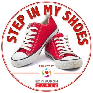 step in my shoes logo