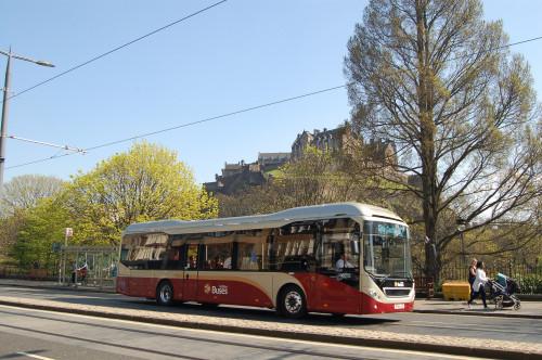 Lothian Bus on Princes Street