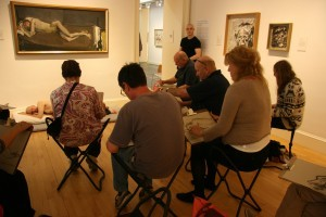 drop in drawing session at mod art
