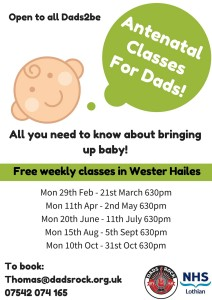 free antenatal classes for dads
