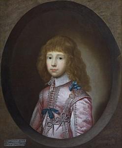 robert lord bruce by Cornelius Johnson, 1633