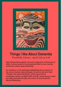 things I like about dementia poster