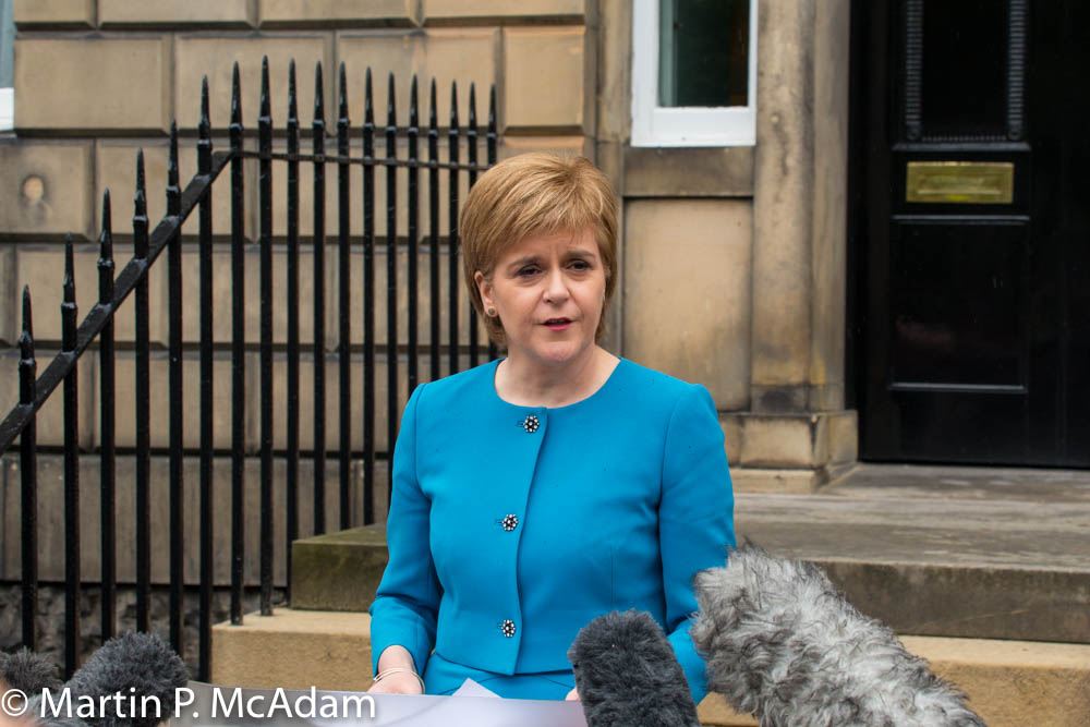 Nicola Sturgeon orders intervention in Brexit legal case