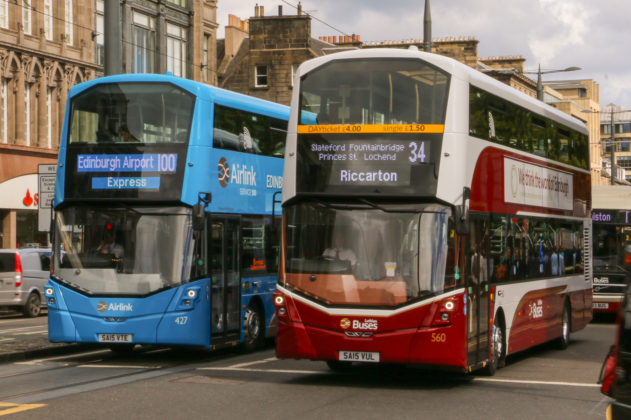 Lothian Buses And Edinburgh Leisure Come Out Top At 2016