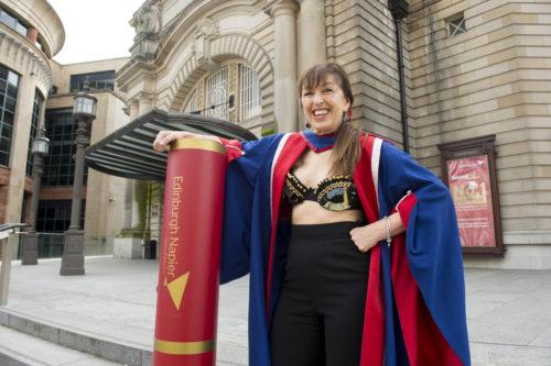 Edinburgh Napier University Honorary Graduand Nina Barough