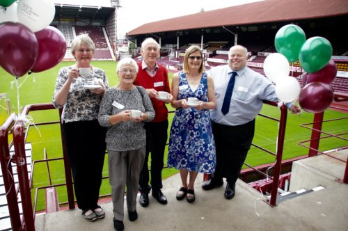 Volunteer Thank You Tea event on the 6th of July 2016 at 1pm Georgie Suite, Tynecastle stadium