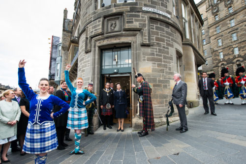 The Princess Royal visits Edinburgh Tattoo offices 1