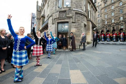 The Princess Royal visits Edinburgh Tattoo offices 2