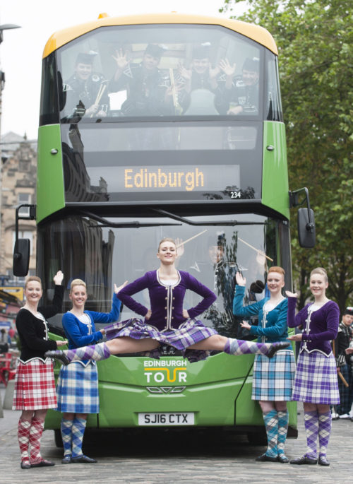 Lothian Buses unveils new fleet for its Edinburgh Bus Tour service (1)
