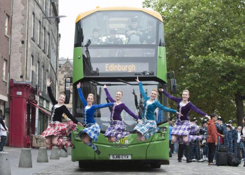 Lothian Buses unveils new fleet for its Edinburgh Bus Tour service (2)